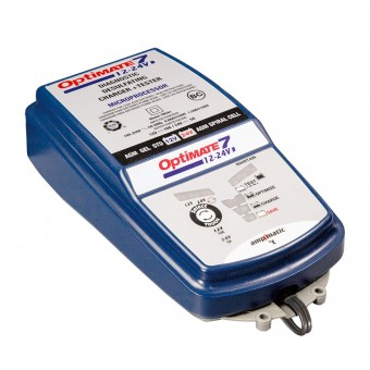 Batterie Moto Tecmate Optimate 7 - 12v et 24v