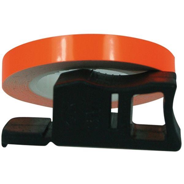 Kit Autocollants Moto Chaft Filets de jante Orange Fluo