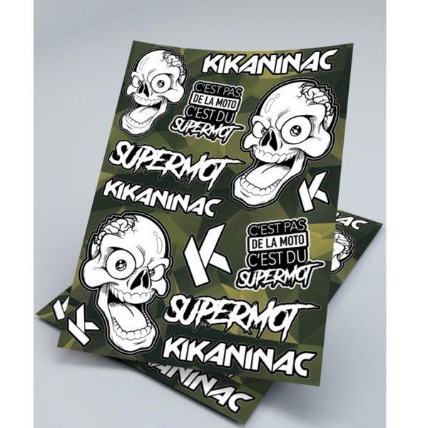 Kikaninac Planche Stickers Supermot