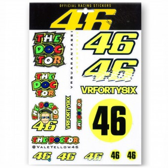 Kit Autocollants Moto VR 46 Sticker Big VR46