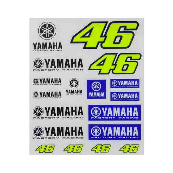 Kit Autocollants Moto VR 46 Stickers Racing Yamaha VR46