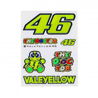 Kit Autocollants Moto VR 46 Stickers Small VR46