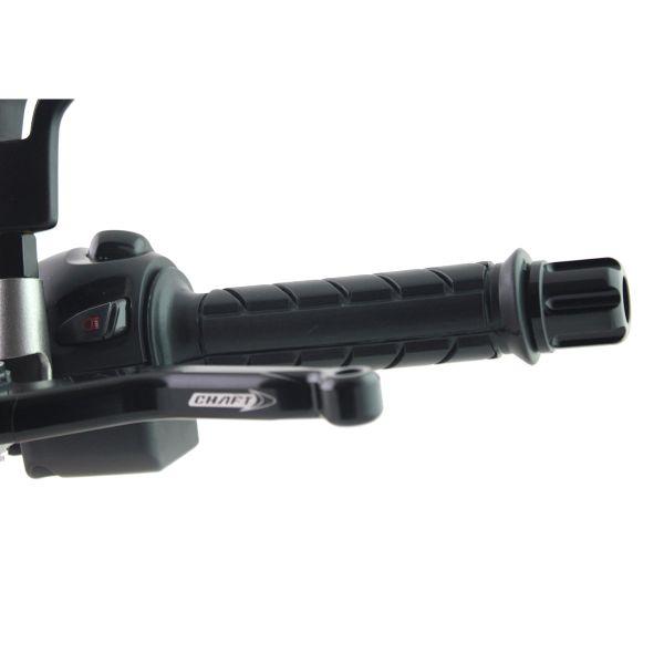 Poignees moto & scooter Chaft Super Grip Noir 125mm