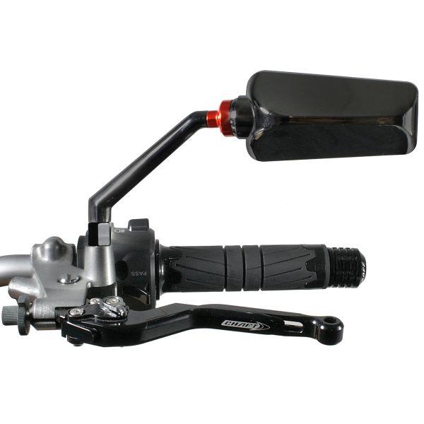 Retroviseurs moto & scooter Chaft Formula Black (Paire)