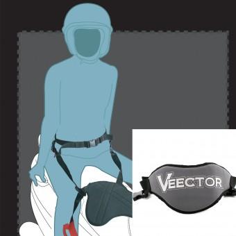 Securite Passager Veector Pan Belt 2 Gris - Noir