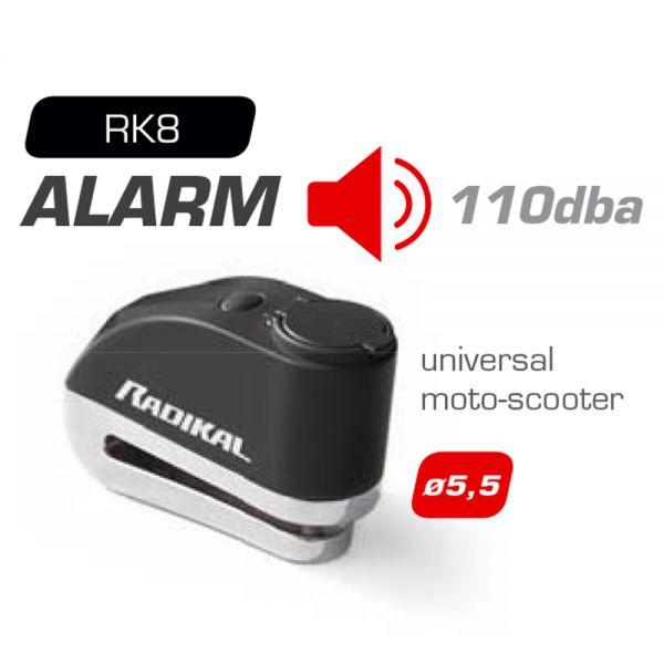 Bloc-disques Radikal Bloc-disque Alarme Diametre 5,5