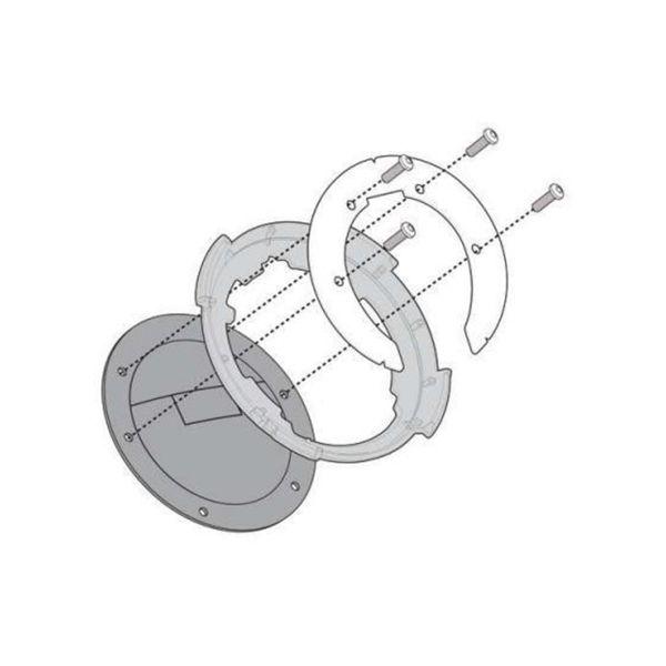 Accessoires sacoche reservoir Givi Bride Tanklock Sacoche Réservoir BF12 KTM Duke 125/200/390 (11-16)