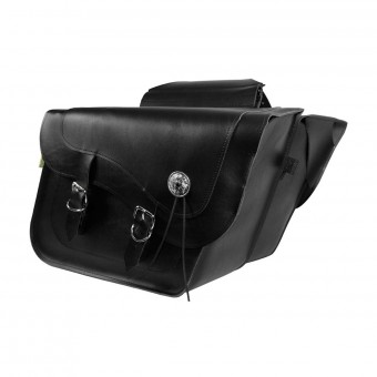Sacoches cavalieres Wille & Max Fleetside Deluxe Saddlebags