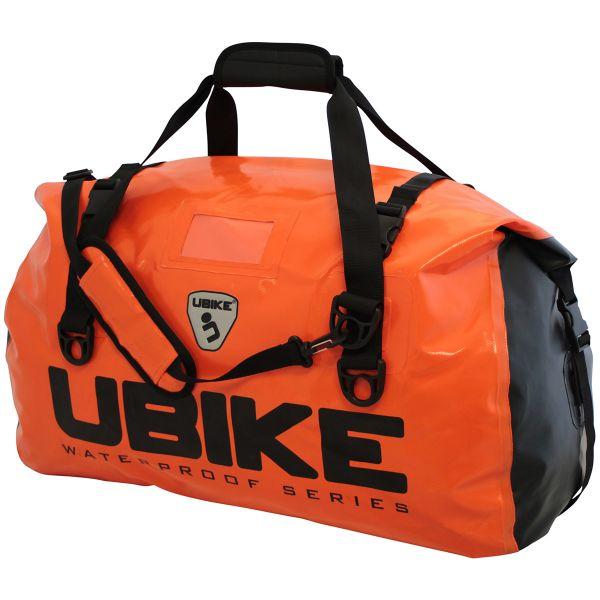 Sacoches de selle UBIKE Duffle Bag 50L Orange Noir