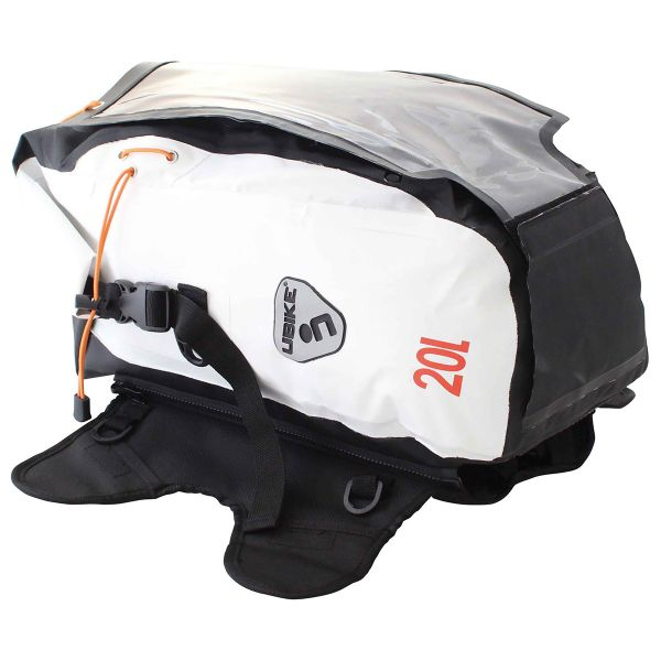 UBIKE Multi Bag Modulable 20L Blanc Noir
