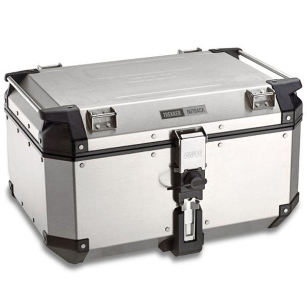 Top case Givi Monokey Trekker Outback 58 L Silver