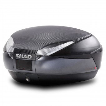 Top case Shad SH48 Dark Grey Carbon