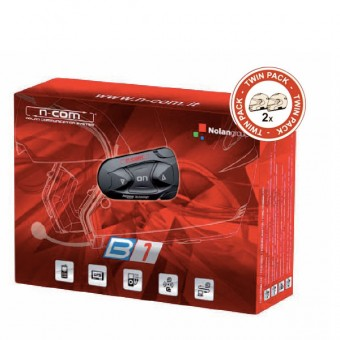 Communication Nolan Kit Bluetooth B1 Twin Pack pour N103 - N91 - N90 - N86 - N85 - N71- N43