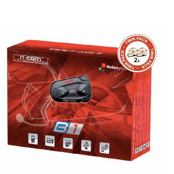 Communication Nolan Kit Bluetooth B1 Twin Pack pour N103 - N91 - N90 - N86 - N85 - N71- N43