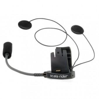 Accessoires communication Cardo Support XL Scala 2 Ecouteurs Connection MP3