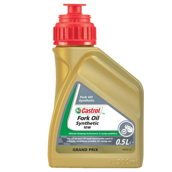 Huile de fourche Castrol Synthetic Fork Oil 10W 500 ml