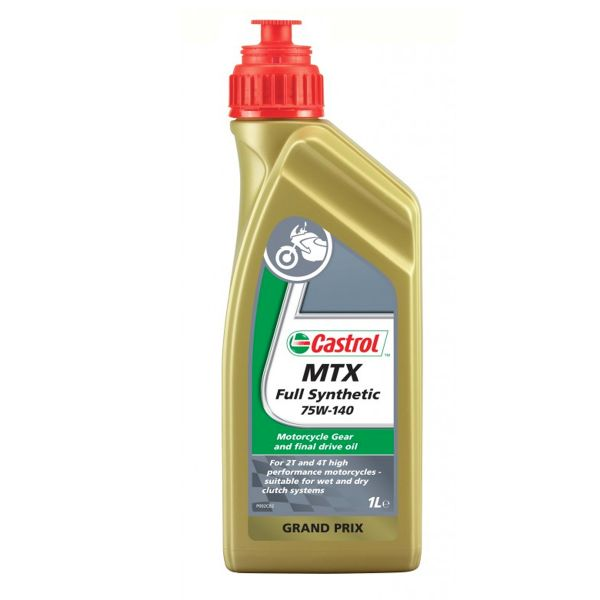 huile de transmission castrol mtx full synthetic 75w 140 1 litre en stock. Black Bedroom Furniture Sets. Home Design Ideas