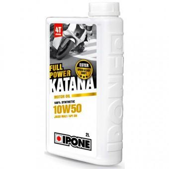 Huile moteur IPONE Full Power Katana - 10W50 - 2 Litres 4T