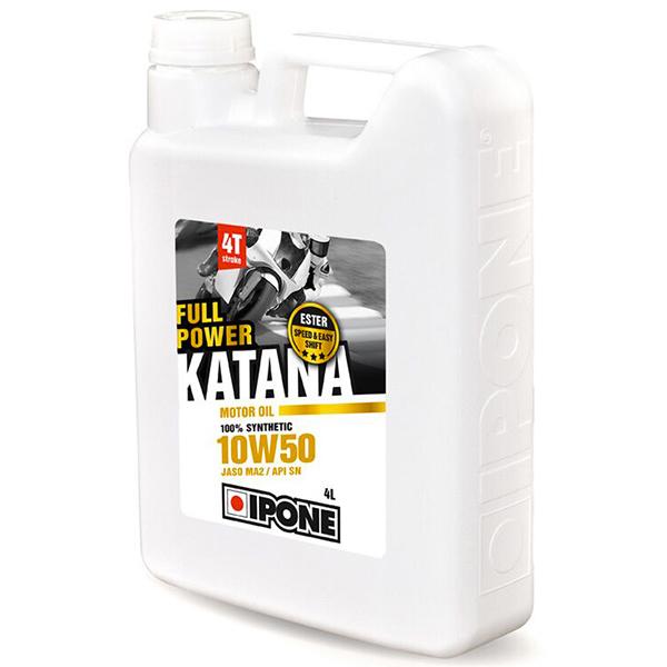 Huile moteur IPONE Full Power Katana - 10W50 - 4 Litres 4T