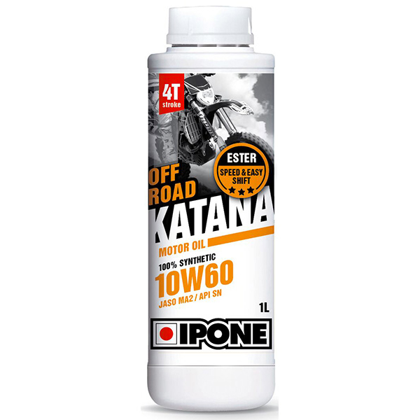 huile moteur ipone katana off road 10w60 1 litre 4t au meilleur prix. Black Bedroom Furniture Sets. Home Design Ideas