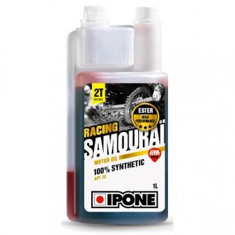 Huile moteur IPONE Samourai Racing Fraise - 1 Litre 2T Doseur