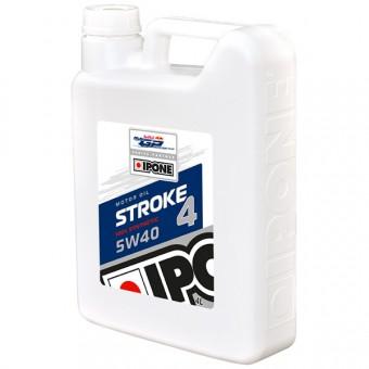 Huile moteur IPONE Stroke 4 - 5W40 - 4 Litres 4T