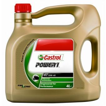 Huile moteur Castrol Power 1 Racing 4T 10W-40 4 litres