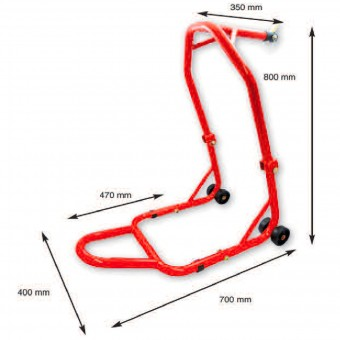 Lève-moto MAD Paddock Stand Route Avant Repliable