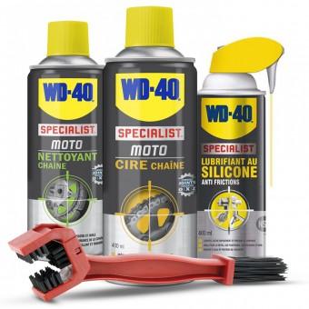 Nettoyage & entretien WD-40 Kit Entretien Chaine