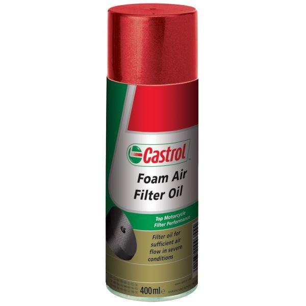 Sprays d'entretien Castrol Foam Air Filter Oil 400 ml