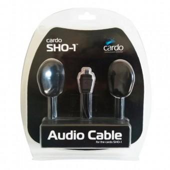Accessoires communication Cardo Kit Audio Double Ecouteur Scala Rider SHO-1