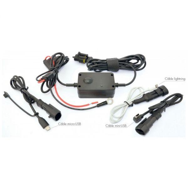 Accessoires GPS Tecnoglobe TG Chargeur GSM et GPS