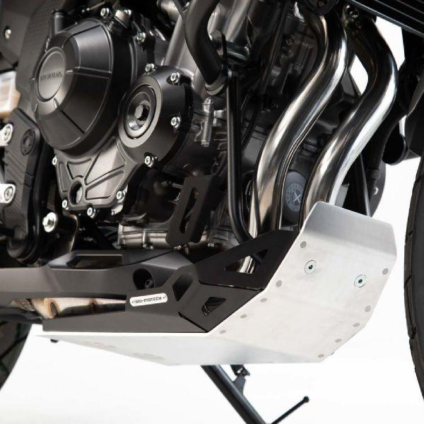 Sabot moteur SW-MOTECH Sabot Aluminium Noir Honda CB500X (18-20)