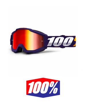 100% Accuri Grib Mirror Red Lens
