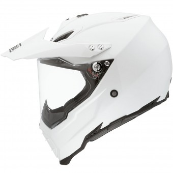 Casque Cross AGV AX-8 Dual Evo Blanc