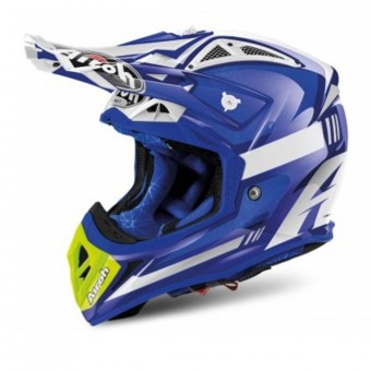 Casque Cross Airoh Aviator 2.2 Cairoli Ottobiano Blue
