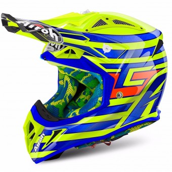 Casque Cross Airoh Aviator 2.2 Cairoli Qatar Yellow
