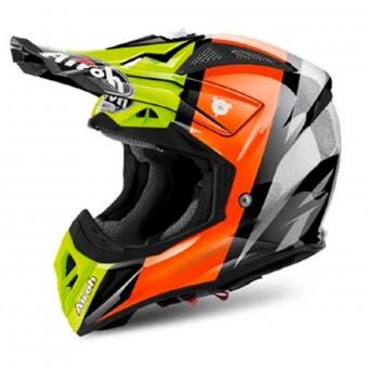 Casque Cross Airoh Aviator 2.2 Revolve Orange