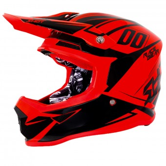 Casque Cross SHOT Furious Alert Neon Orange
