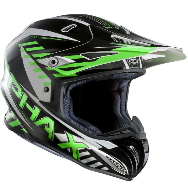 Casque Cross HJC RPHA X Schuma MC4