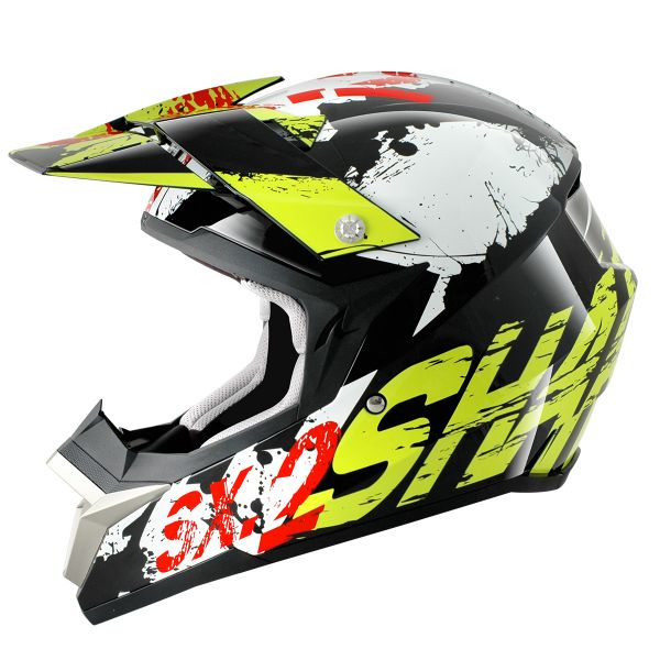Casque Cross Shark SX2 Freak KGW