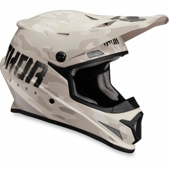 Casque Cross Thor Sector Covert Sand
