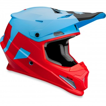 Casque Cross Thor Sector Level Blue Red