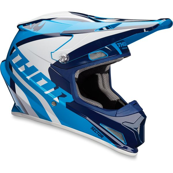 Casque Cross Thor Sector Ricochet Navy Blue