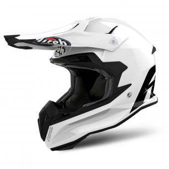 Casque Cross Airoh Terminator Open Vision White