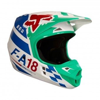 Casque Cross FOX V1 Sayak Green