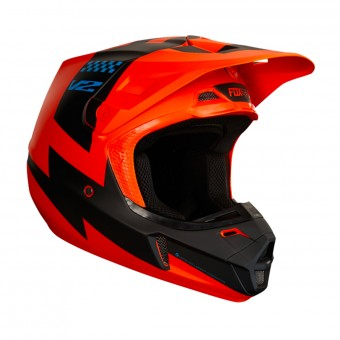 Casque Cross FOX V2 Mastar Orange