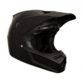 Casque Cross FOX V3 Matte Carbon