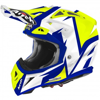 Casque Cross Airoh Aviator 2.2 Steady Yellow