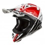Casque Cross Airoh Aviator 2.2 Check Rouge